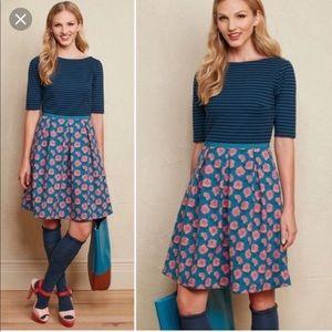 Matilda Jane Floral Striped Peyton Dress